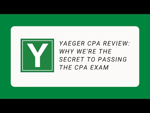 The Secret to passing the CPA exam with Phil Yaeger