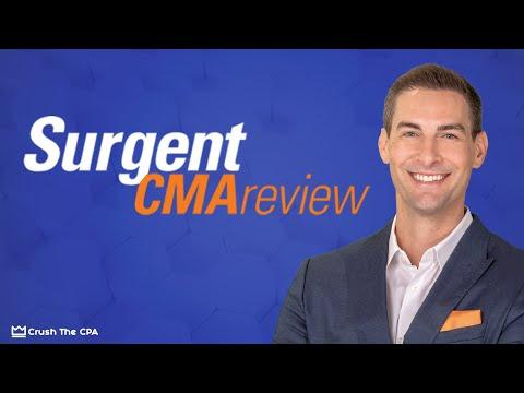 Surgent CMA Review – Best CMA Exam Prep Course 2021