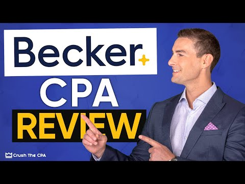 Becker CPA Review 2021 (Compare vs Top Rated CPA Exam Prep Courses)