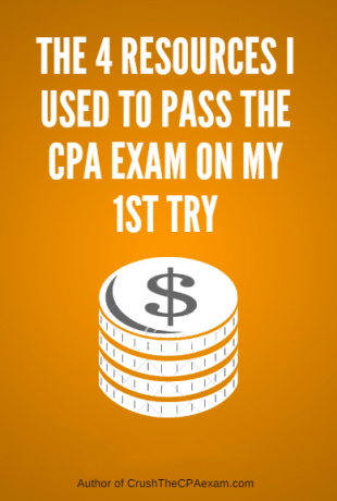 4 Resources I Used To Pass The CPA Exam