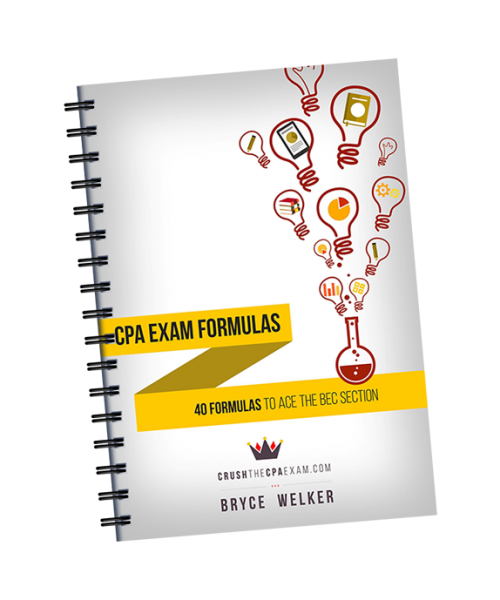 Best cpa study guide of 2018 pass guarantee 100 risk free cpa exam formulas fandeluxe Choice Image