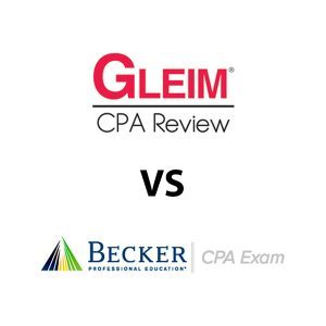 gleim cpa review vs becker