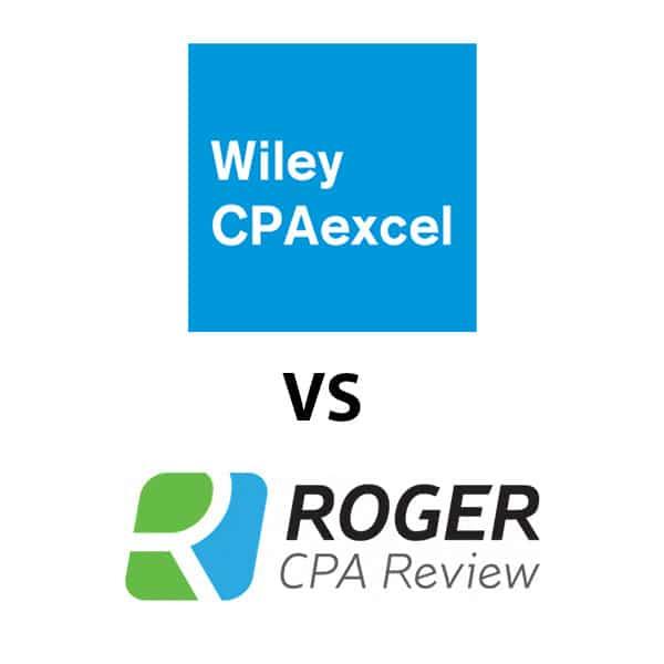 ሮጀር CPA ግምገማ በተቃርኖ wiley coapexcel