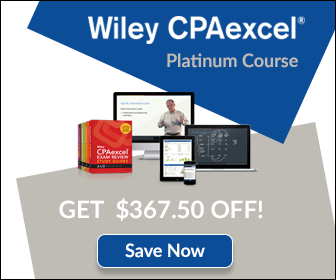 2018 wiley cpaexcel review 484 off coupon expert analysis whats included in wiley cpaexcels review course fandeluxe Gallery