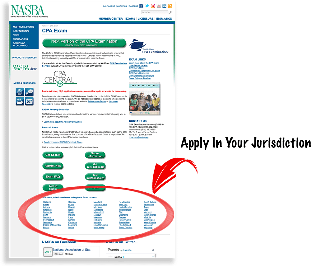 cpa exam application process: step by step checklist [updated 2018]