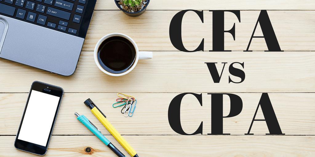 CFA vs.. CPA