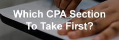 Which CPA Section To Take First