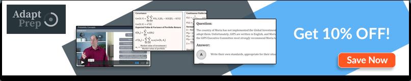 2019 AdaptPrep CFA® Review [Pros/Cons + Discounts]