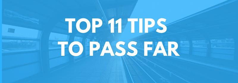 far cpa exam study tips