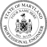 State Of Maryland Professional Engineer PE Exam License