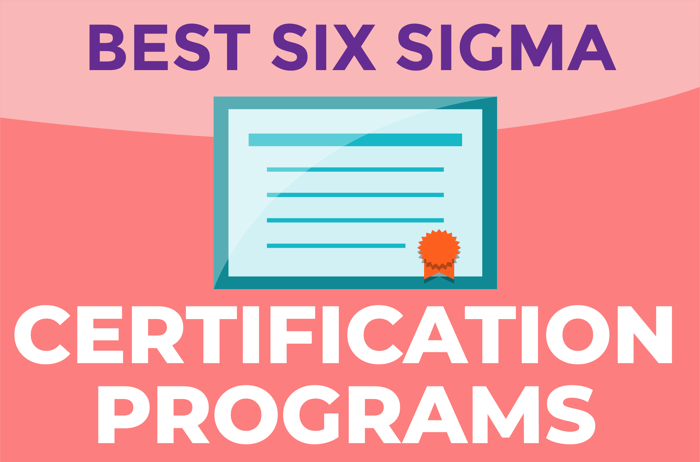 Best Six Sigma Certification Programs