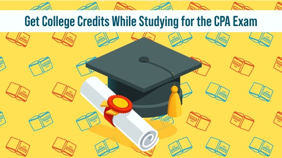 Get College Credits While Studying for the CPA Exam