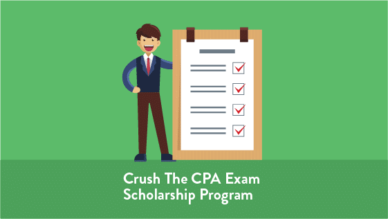 Crush The CPA Exam Scholarship Program