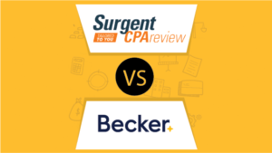 Surgent vs Becker CPA Review