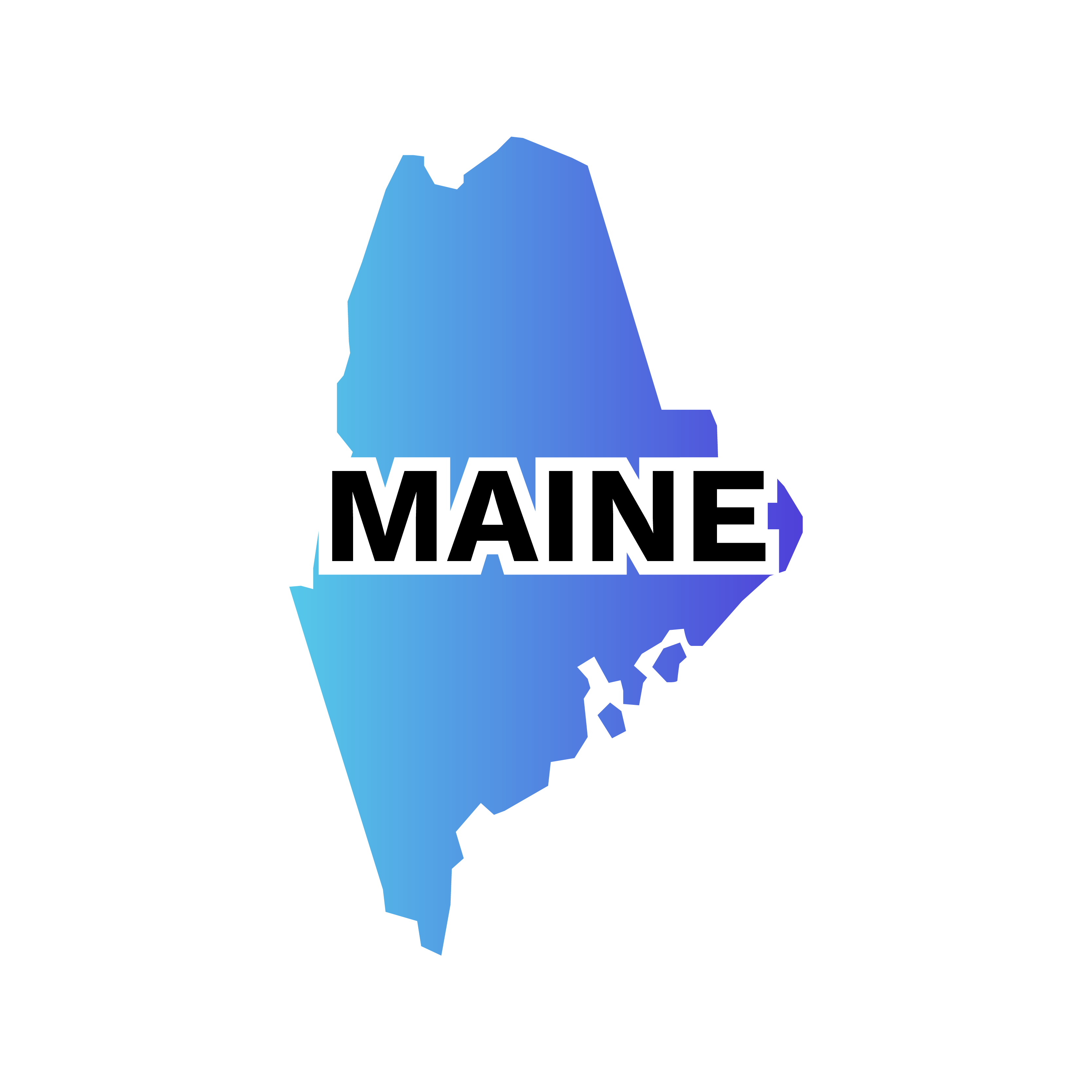 Maine State Image