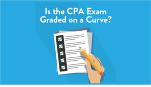 is the cpa exam graded on a curve