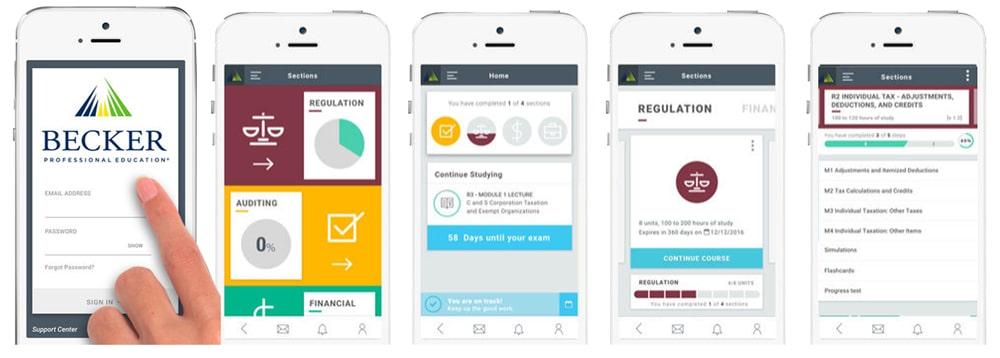 Becker Mobile App