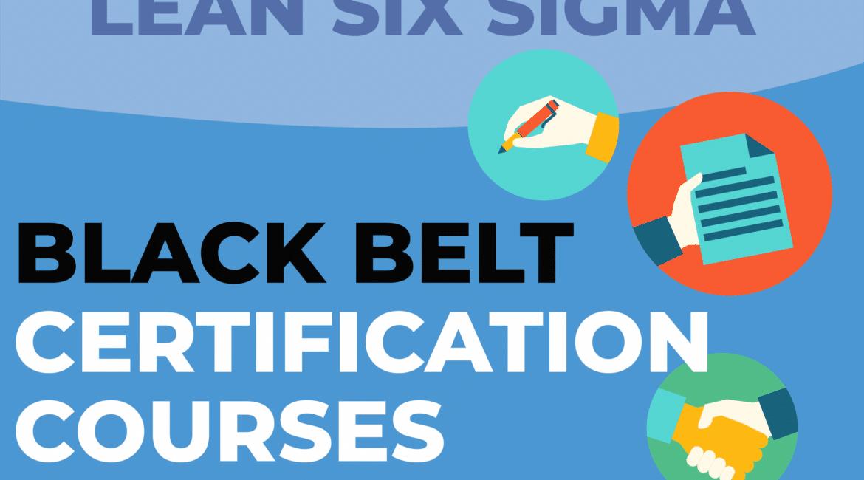 Lean Six Sigma Black Belt Certification Courses