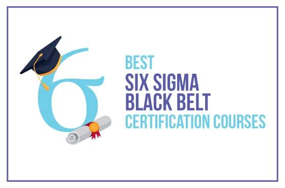 Best Six Sigma Black Belt Certification Courses