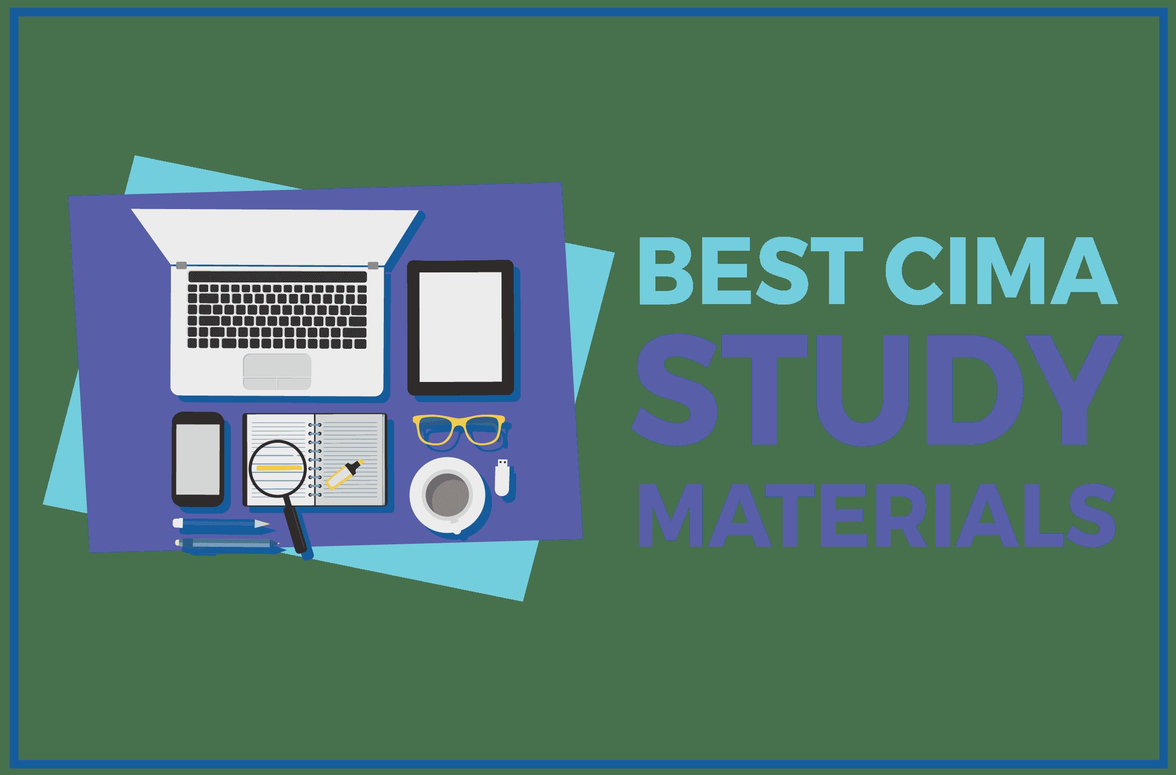 Best CIMA Study Materials